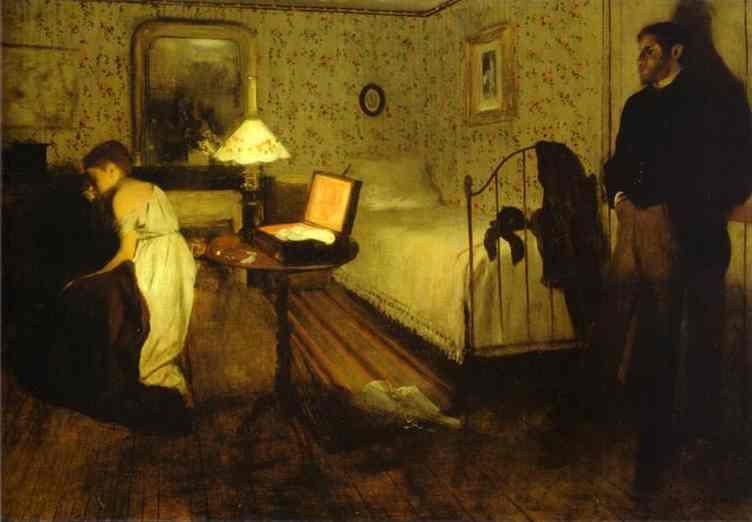 "ALT=""Violenza sulle donne Lo stupro Edgar Degas"""