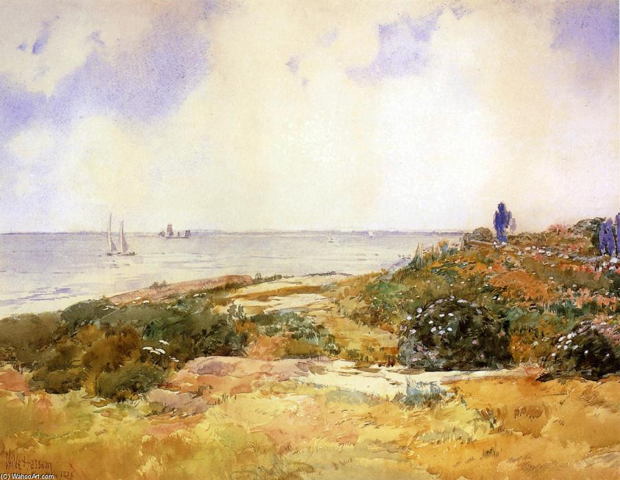 famous painting Isles of Shoals 2 of Frederick Childe Hassam