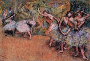 Edgar Degas - balletto scena 1