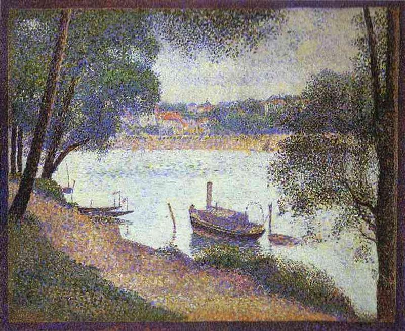 famous painting Grigio Meteo of Georges Pierre Seurat