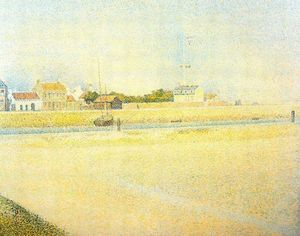Georges Pierre Seurat - Il canale di Gravelines Grand Fort-Philippe