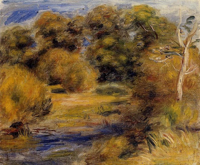 famous painting in ostaggio 1 of Pierre-Auguste Renoir