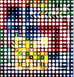 Victor Vasarely - Orion Blanc