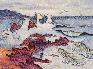 Henri Edmond Cross - Il Mediterraneo, East Wind