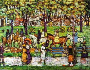 Maurice Brazil Prendergast - Central Parco 2