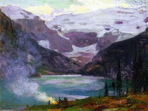 Edward Henry Potthast - Camp di Lake Louise