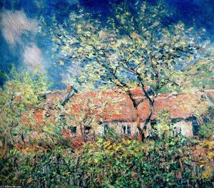 Claude Monet - primavera a giverny