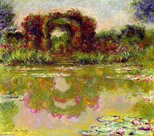 Claude Monet - Rose Arches a Giverny