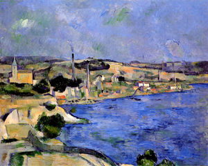 Paul Cezanne - La baia di l Estaque e Saint-Henri