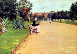 William Merritt Chase - Il Parco 02