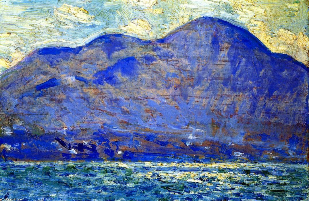 famous painting Mt. Beacon a Newburgh of Frederick Childe Hassam