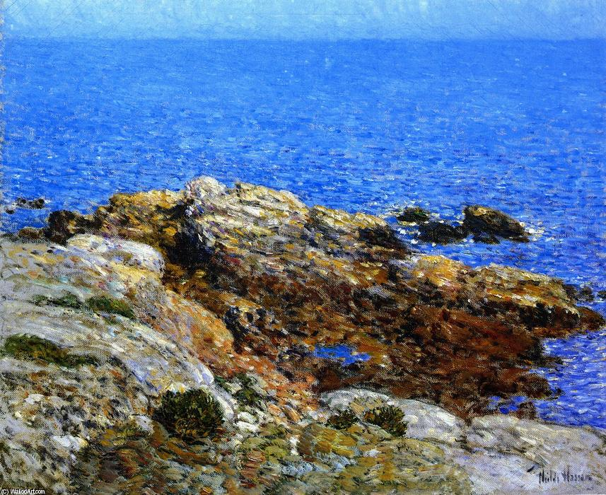 famous painting Estate Mare , isole di shoals of Frederick Childe Hassam