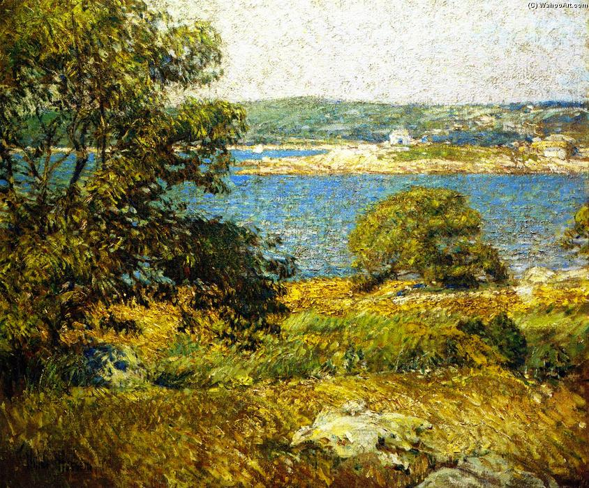 famous painting Ten Pound Isola of Frederick Childe Hassam