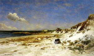 William Lamb Picknell - Wingaersheek Torrente Spiaggia , Gloucester , Massachusetts