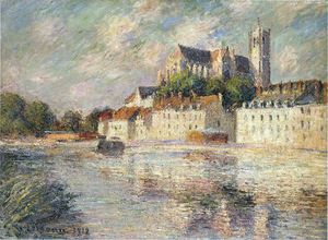 Gustave Loiseau - l'auxerre cattedrale