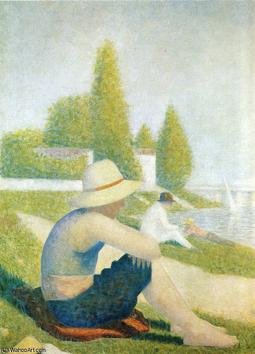 famous painting senza titolo 2008   of Georges Pierre Seurat