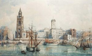 William Gavin Herdman - Docks di Liverpool