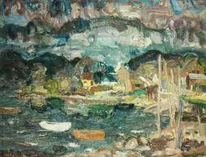 William George Gillies - Crepuscolo a letterfearn