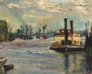 Ronald Ossory Dunlop - Woolwich Traghetto