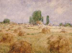 William Henry Holmes - campo di frumento Shock