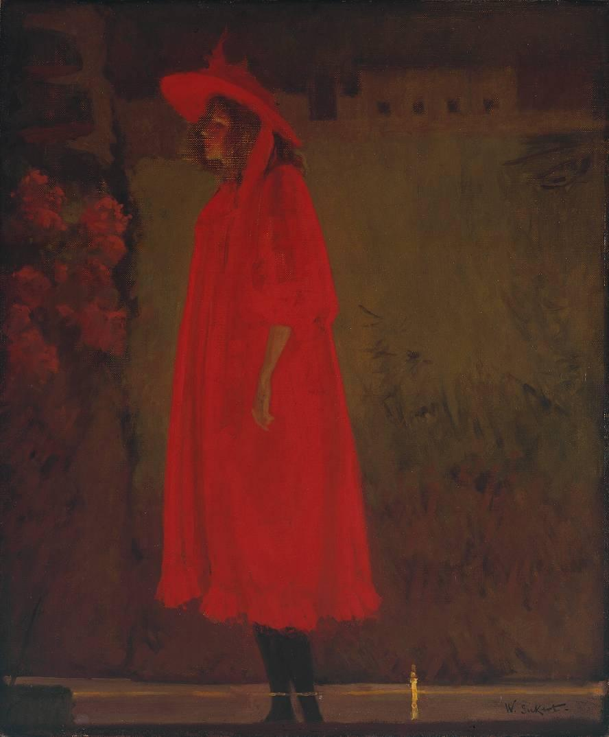 famous painting minnie cunningham al vecchio bedford of Walter Richard Sickert